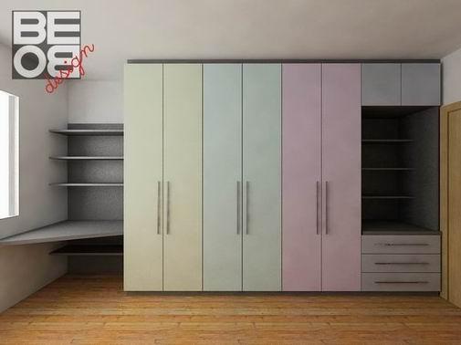 Bebo progetto arredo arredamento interni mobili su misura for Cameretta armadio